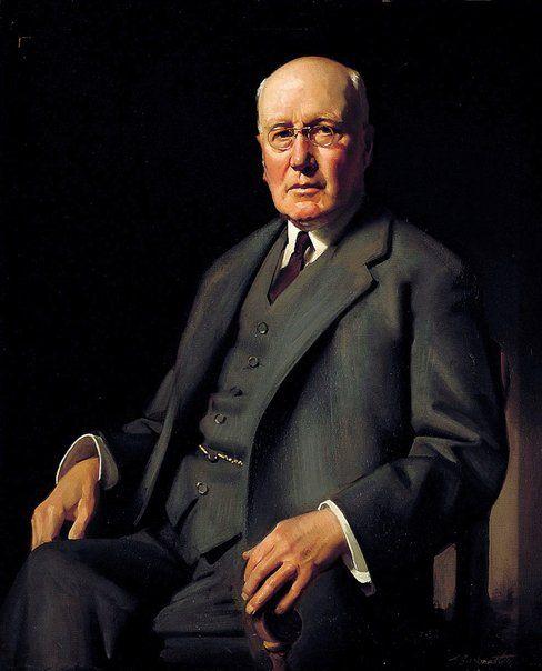 Ernest Buckmaster: Sir William Irvine :: WINNER Archibald Prize 1932 :: Art Gallery NSW
