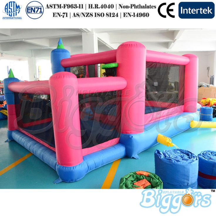 Outdoor Fun Sports For Family Use Mini Inflatable Trampoline Bouncer Jumping For Kinds //Price: $US $890.00 & FREE Shipping //     #toys