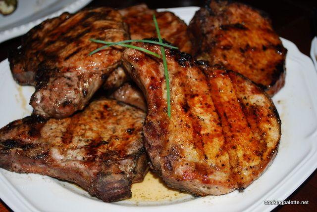 Свиные Отбивные с сухим маринадом на гриле или сковороде