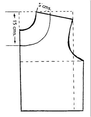 Modistiando Ando: Escote Redondo, Cuadrado, En U y cuello alto.
