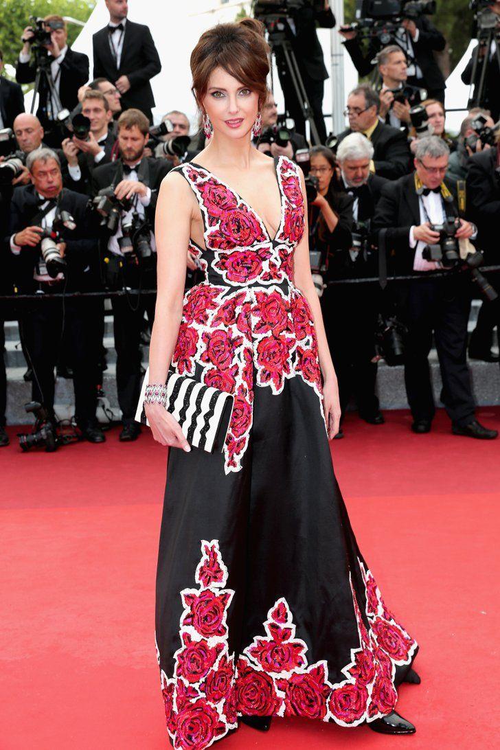 Pin for Later: Ne Manquez Pas un Seul des Looks Vus au Festival de Cannes Jour 1 Frédérique Bel