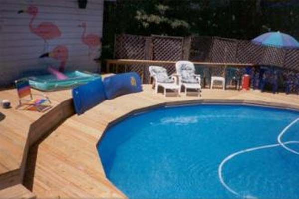 Deck Plans For Above Ground Pools Classy