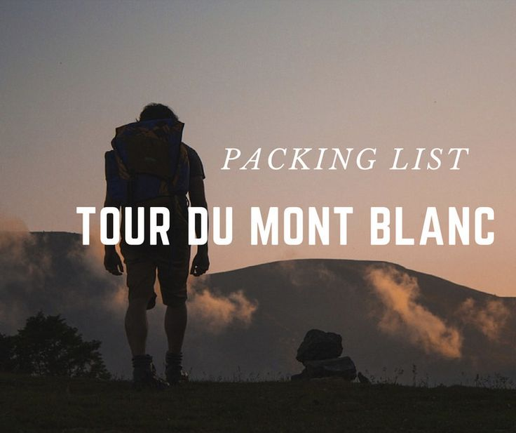 The Tour du Mont Blanc is one of the most famous long-distance hikes, not only in Europebut in the world! But it can also be intimating knowing what to pack for a long distance trek – especially when you're carrying everything yourself! That's why I've created the Tour du Mont Blanc Packing List!