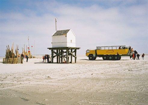 Met de Vliehors Expres een tochtje over de Vliehors. De grote zandplaat aan de westkant van Vlieland