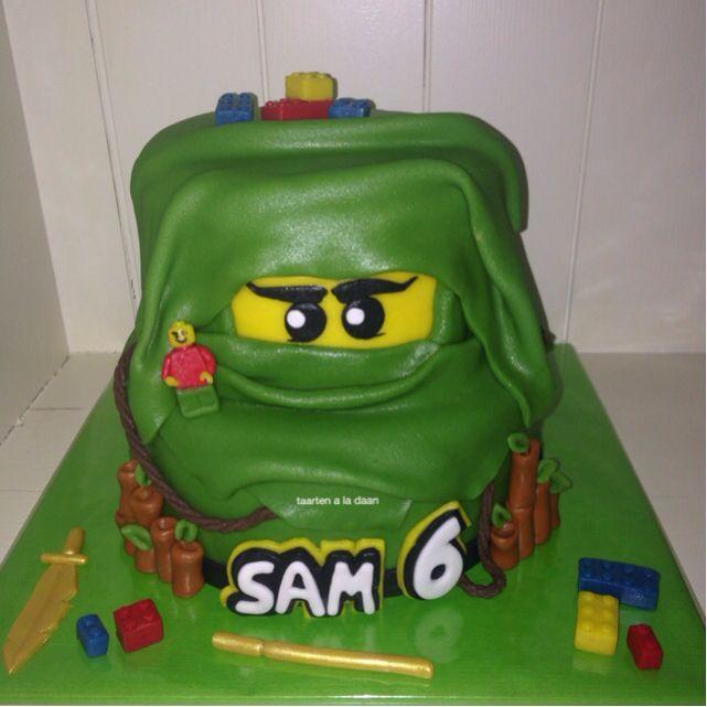 Lego Ninjago taart Lego Ninjago cake
