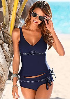 Tankini Swimwear Tops Tankini Top  $36  Low Rise Belted Bottom  $29  | Venus
