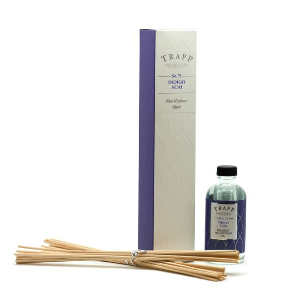 No 71 Indigo Acai - 4oz Reed Diffuser Refill | Trapp Candles