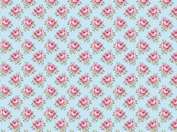 Fondo celeste con flores - Imagui