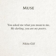 Muse - nikita gill