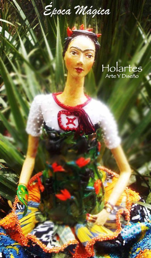 #muñecas #art #diseño #fashion #inspiration #fridakahlo