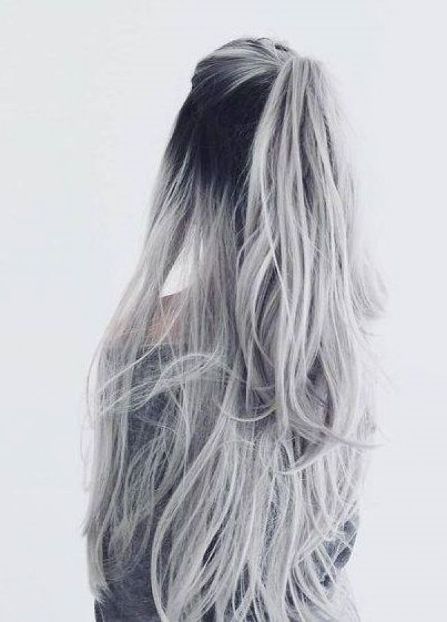 50 Romantic Valentine S Day Hairstyle For Sassy Look Hair Styles Long Hair Styles Silver Ombre Hair