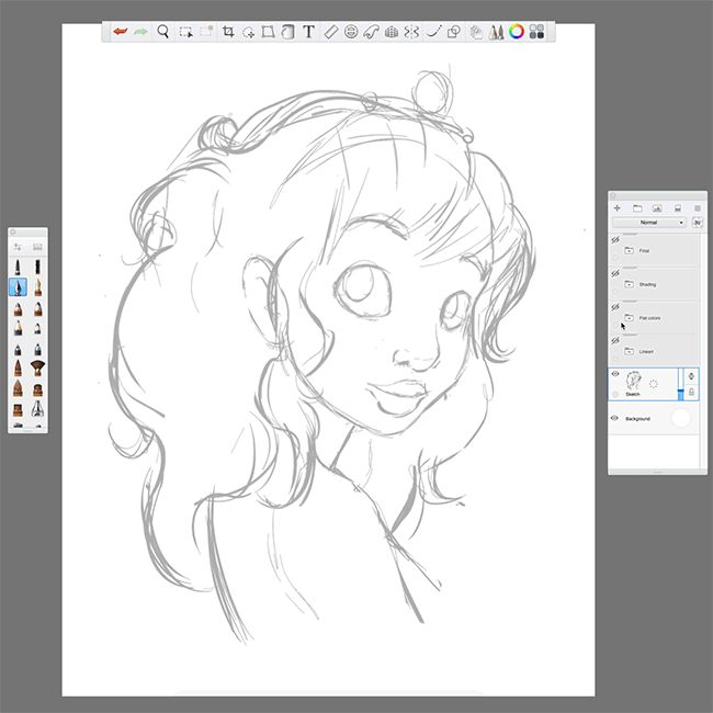 Sketch to Polish: Drawing with Wacom Intuos Pro —   Do you draw on a tablet or draw on a screen? We get a lot of questions from users at events, on our regular Twitch broadcasts, and on our Facebook...