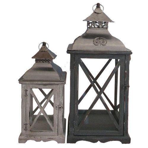 Wooden Antique Lantern
