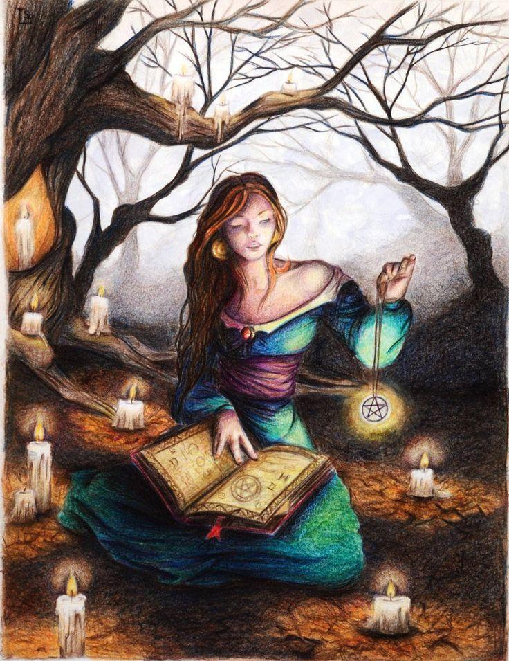 Картинки магия рисовать