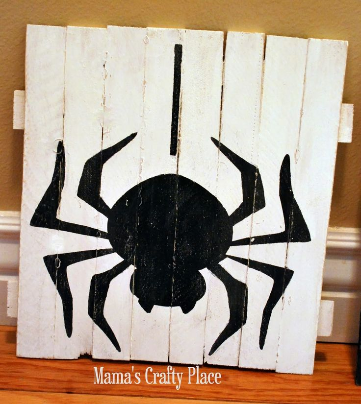 mamas crafts halloween mini pallets - Halloween Decoration Crafts