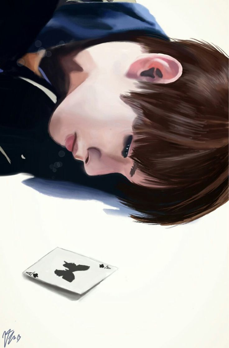BTS fanart by me ^^ Credits to the owner of the reference picture used!