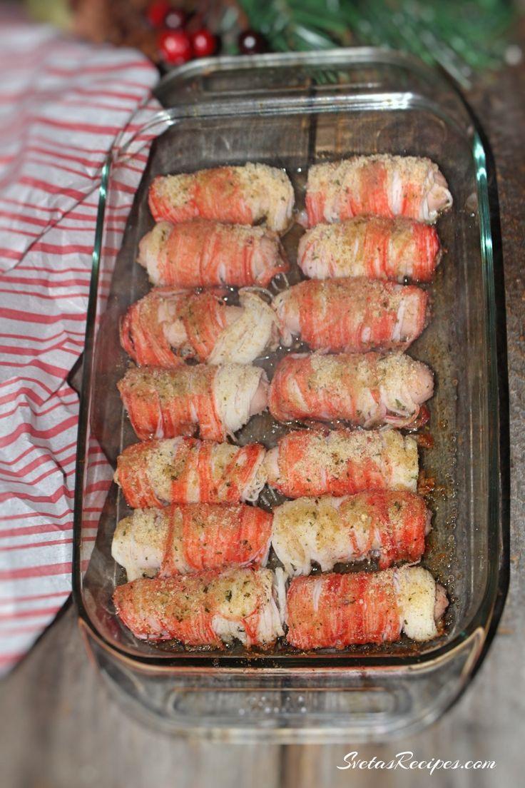 Stuffed Crab Sticks | SvetasRecipes