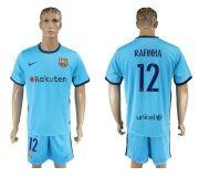 Barcelona FC 17-18 Away soccer kits 14