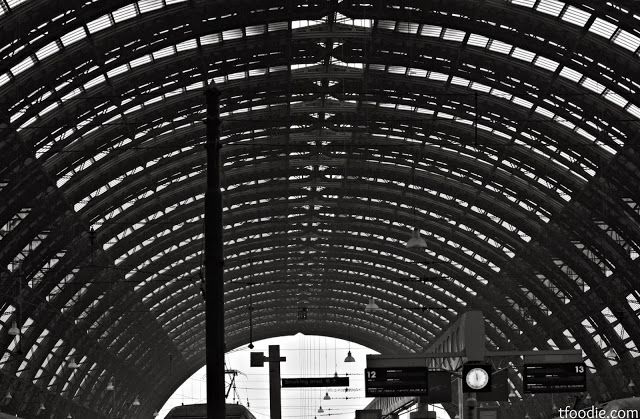 The traveling foodie: Milan Central Station