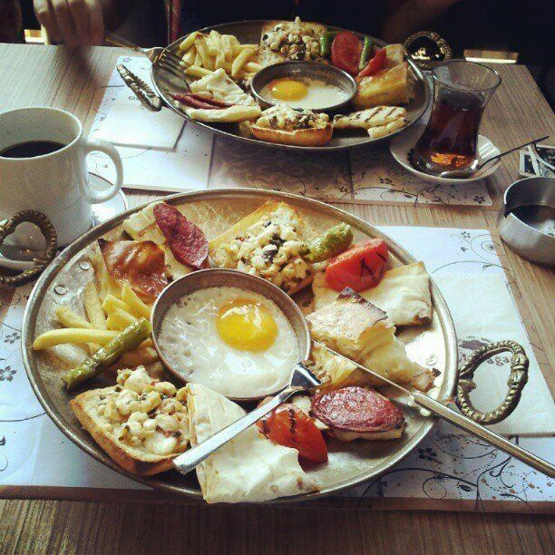 Turkish style breakfast
