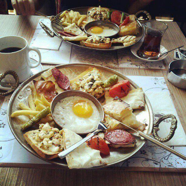 Turkish style breakfast