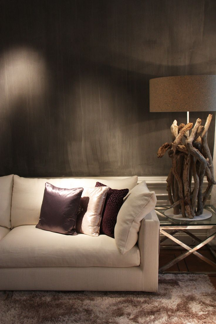 Flexform Sofa in beautiful greys