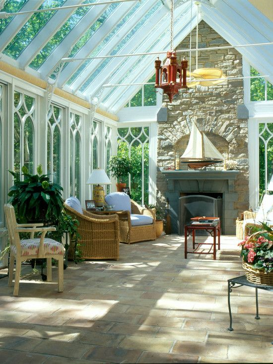 Of course it is perfectly reasonable to expect a conservatory like this at my home - some day!