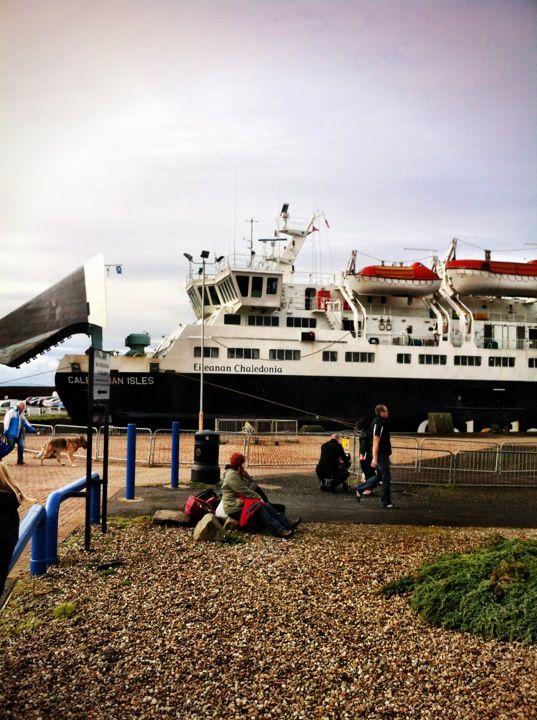 Ardrossan Ferry Terminal in Ardrossan, North Ayrshire