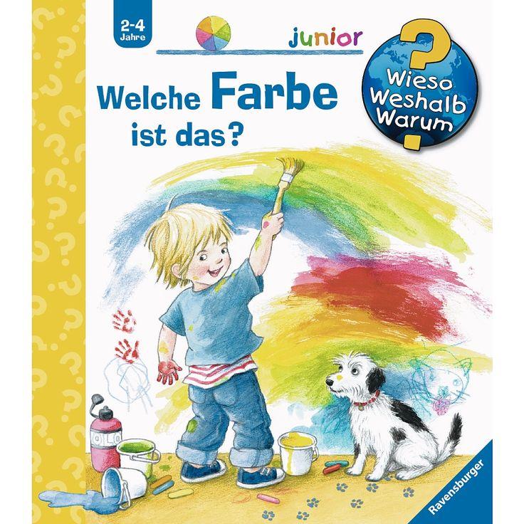 """Ravensburger - Wieso? Weshalb? Warum? Junior: Welche Farbe ist das? - Ravensburger Buchverlag - Toys""""R""""Us"""