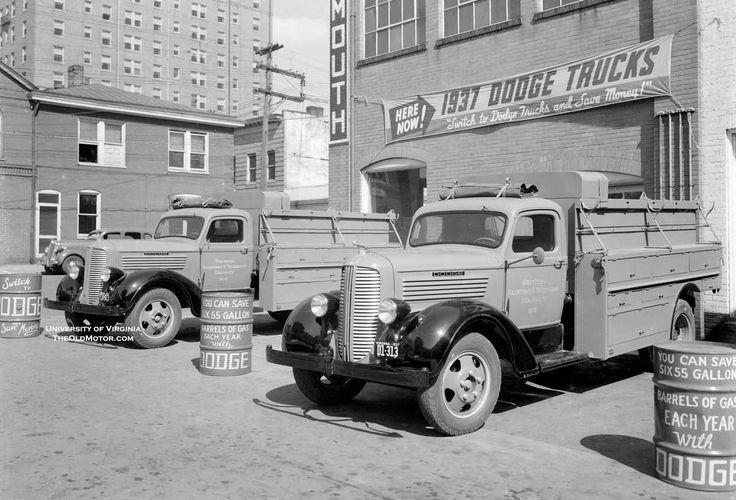 新しい1937年のダッジトラックでペンキを挟んで  オールドモーター