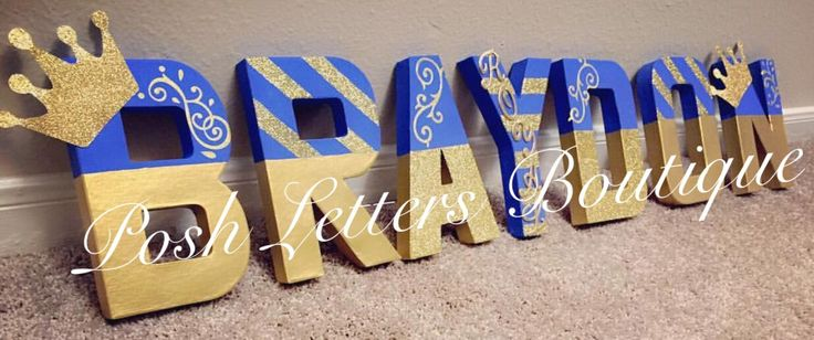 Prince Letters Royal Prince Party Prince Table Letters Prince Baby Shower  Royal Prince Birthday Boy Baptism Prince Cake Table by PoshLettersBoutique on Etsy https://www.etsy.com/listing/457184524/prince-letters-royal-prince-party-prince