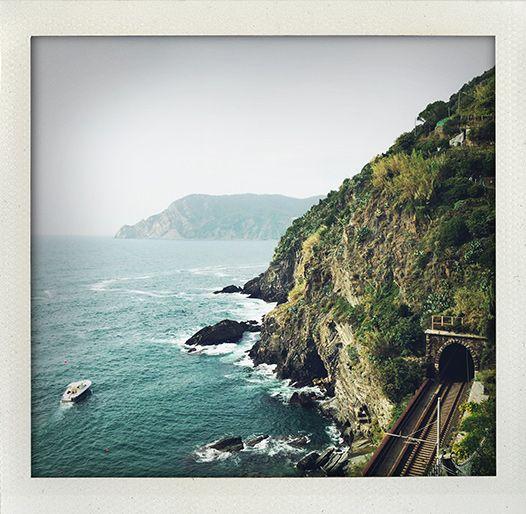 Vernazza, Cinque Terre, Liguria, Italy (I huvudet på Elvaelva).