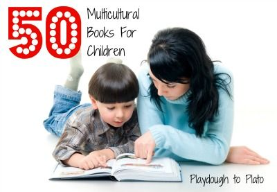 50 Multicultural Books for Children. Divided by age from Preschool to 12 years old.
