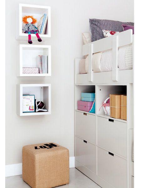 Las 25 mejores ideas sobre estanter a cubo en pinterest - Estanterias para dormitorios ...