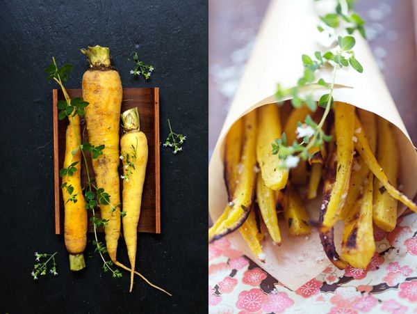 Parsnips and Carrots Oven Baked Fries!