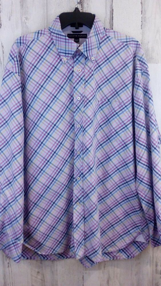376a8b5a Tommy Hilfiger Mens Shirt Size XXL Long Sleeves 80s 2 Ply Fabric 100%  Cotton #fashion #clothing #shoes #accessories #mensclothing #shirts (ebay  link)