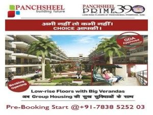 Panchsheel Prime 390 – An Amazing Home in Tranquility for Your Loved Ones - Panchsheel Prime 390 is an ideal project launched by a wonderful builder Panchsheel group, which is offering 3 bhk low rise homes at Govind Puram, Ghaziabad