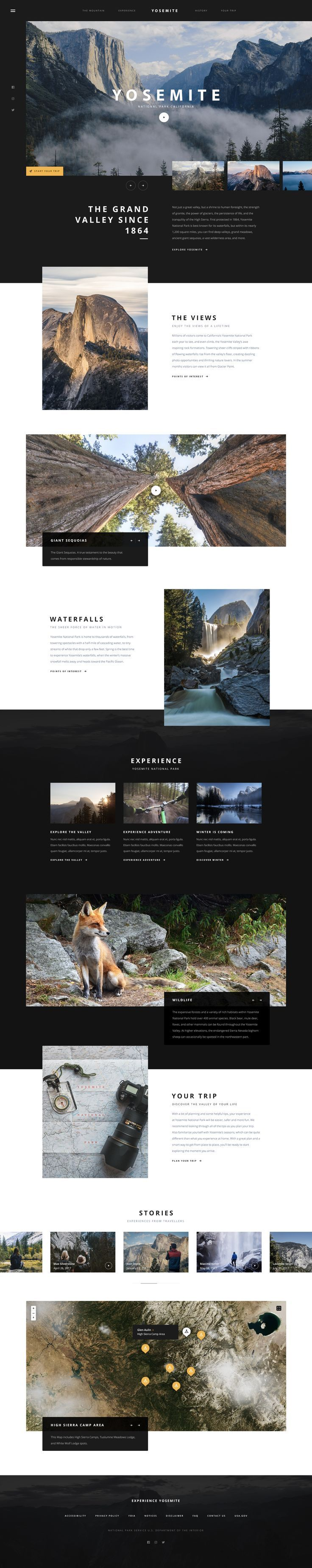 Weblayout design inspiration