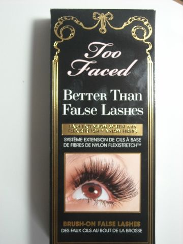 "Too Faced Mascara - hands down the best ""false lash"" mascara I've tried.  And I've tried a lot!"