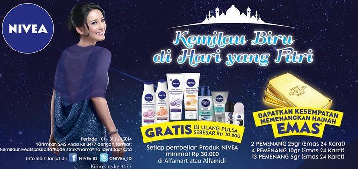 Alfamart: Promo Nivea, Dapatkan Kesempatan Memenangkan Hadiah Emas @alfamartku