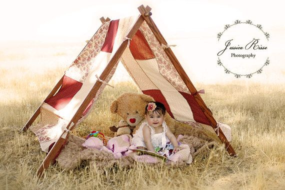 Photography Props Patchwork Tent Cover Kids Photo Prop Play Tent Cover Maroon/Brown on Etsy, $80.00