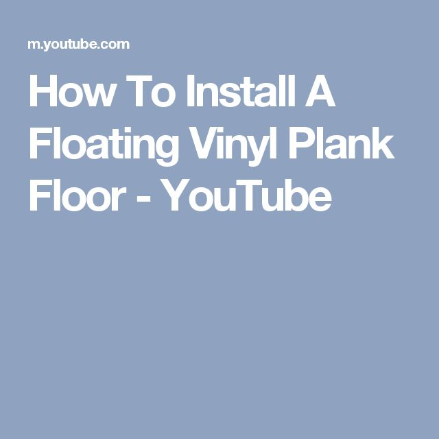 Install A Warm Moisture Resistant Basement Subfloor In A Day: 17+ Ideas About Vinyl Plank Flooring On Pinterest
