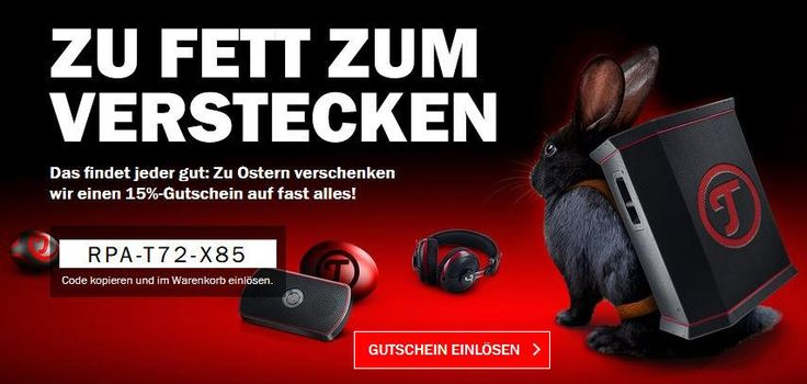 RPA-T72-X85 – Gutschein – 15% auf alle Teufel & Raumfeld-Produkte https://www.lautsprecher-shop.com/?p=108819