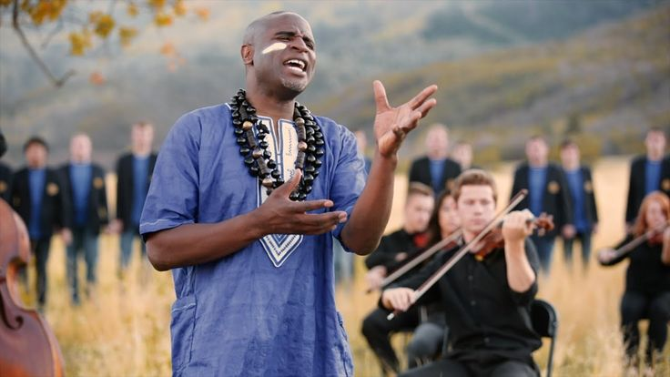 Baba Yetu (The Lord's Prayer in Swahili)-Alex Boyé, BYU Men's Chorus & P... >>This is really pretty! But since I can't understand them I am just assuming this is the Biblical Lord's prayer and not something else.