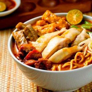 Laksa, Bogor - Indonesian Vegetable Soup