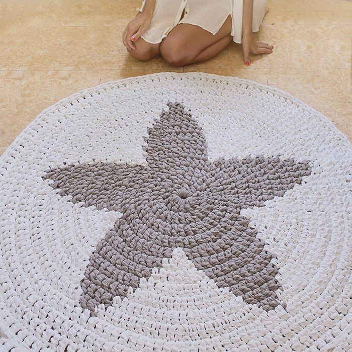 Alfombra STAR de trapillo www.susimiu.es