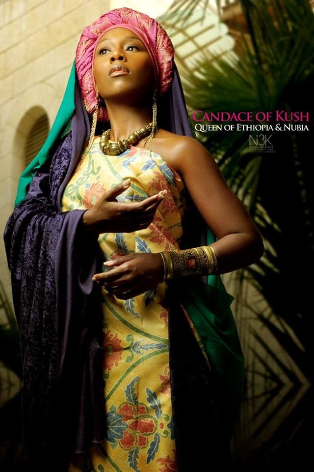 CANDACE OF KUSH - QUEEN OF ETHIOPIA & NUBIA