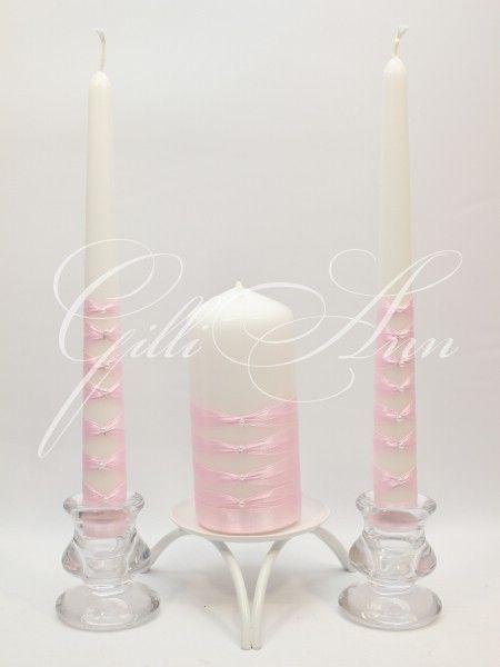 Набор из трех свадебных свечей Домашний очаг Gilliann Allison CAN080