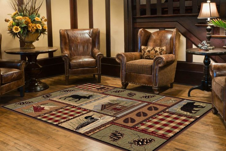 Universal rugs lodge novelty rug gifts for wife,gifts for home decor lovers