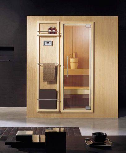 sauna for small space | Finnish Sauna from Effegibi - the new Koko sauna